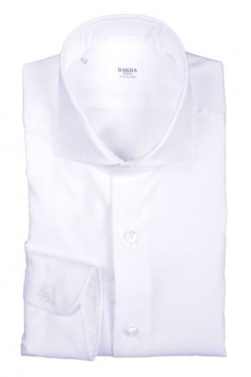 Camicia Uomo Barba Napoli Bianco