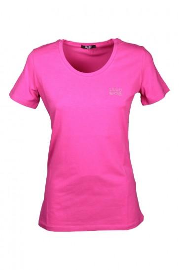 T-shirt Donna Liu Jo art. TA0001 col. X0264 Rosso
