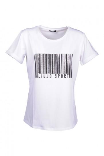 T-shirt Donna Liu Jo art. TA0134 col. 11111 Bianco