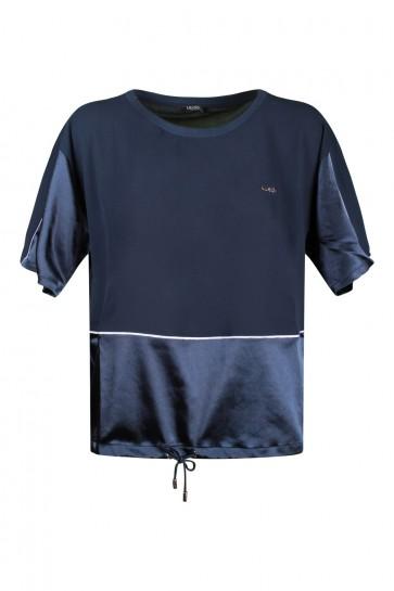 T-shirt Donna Liu Jo Blue