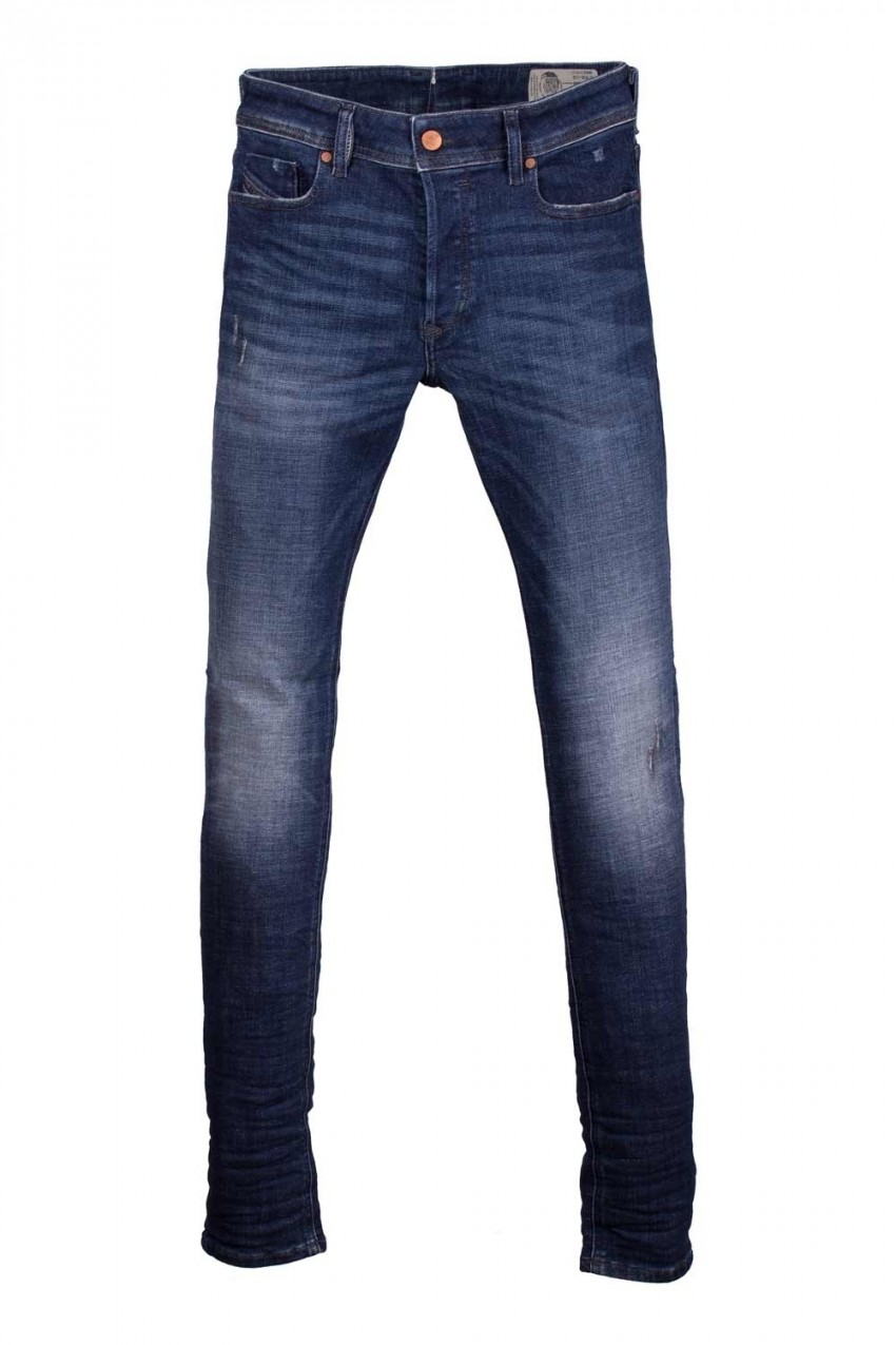 sneakers for cheap fa1e6 607ed Jeans Uomo Diesel Blue