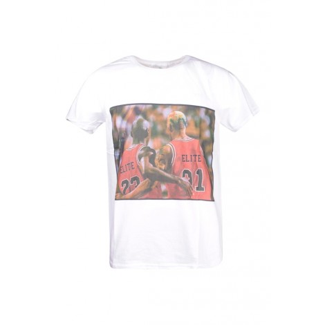 T-shirt Uomo L'elite' 55 Bianco