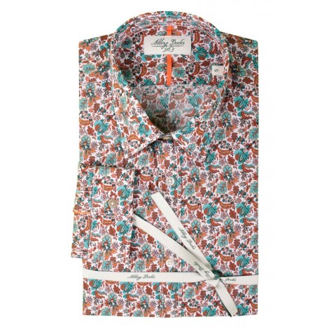 Camicia Uomo Alley Docks Marrone
