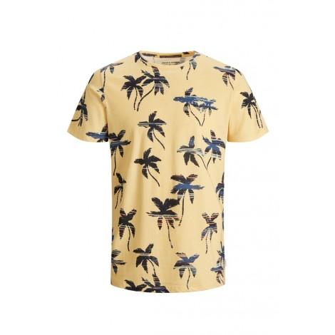 T-shirt Bambino Jack & Jones Giallo