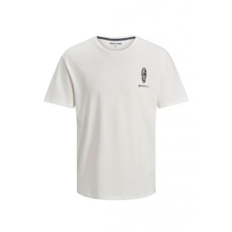 T-shirt Bambino Jack & Jones Bianco