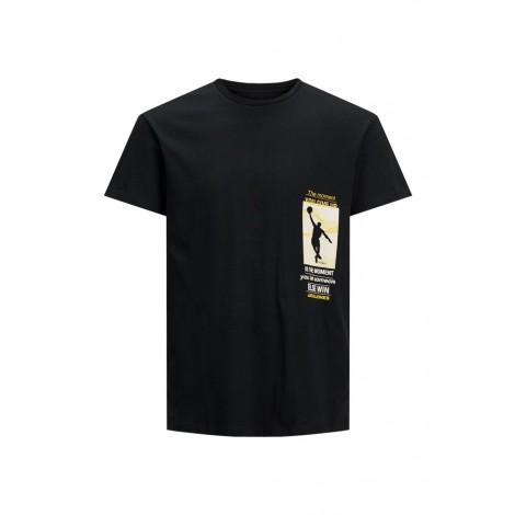 T-shirt Bambino Jack & Jones Nero