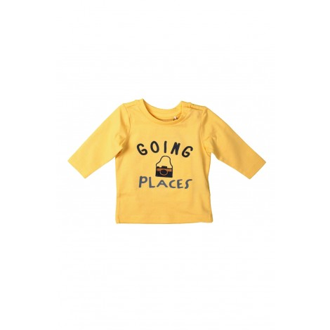 T-shirt Bambino Name It Giallo