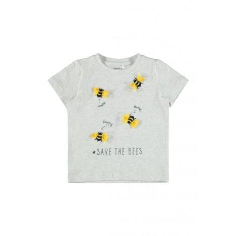 T-shirt Bambina Name It Grigio