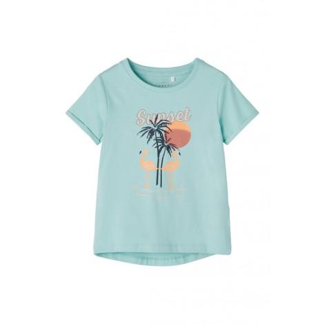 T-shirt Bambina Name It Blue