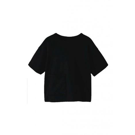 T-shirt Bambina Name It Nero