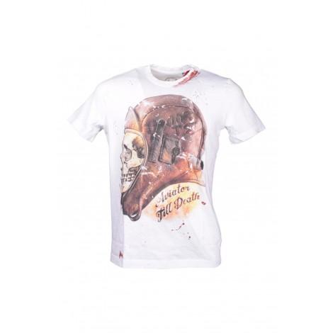 T-shirt Uomo Aarts art. 23 col. BIANCO Bianco