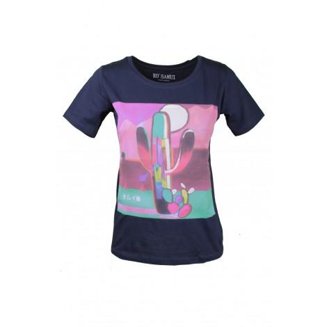 T-shirt Donna Ko Samui Blue