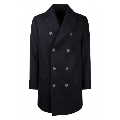 Cappotto Uomo Flowers London Blue