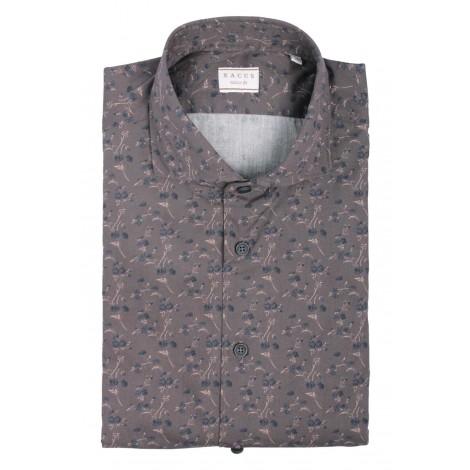 Camicia Uomo Xacus Marrone