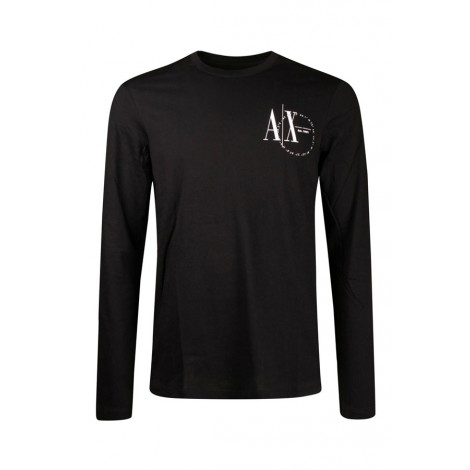 T-shirt Uomo Armani Exchange Nero