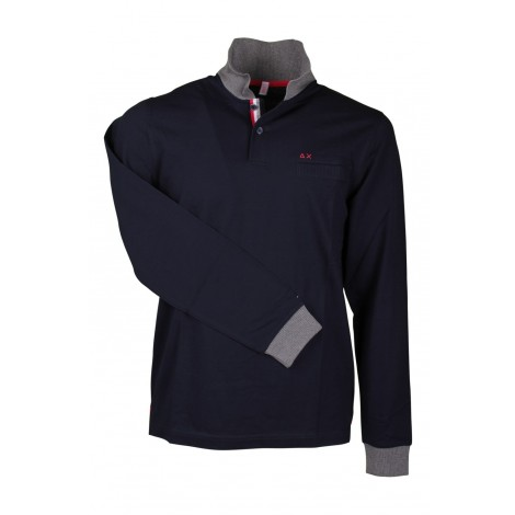 Polo Uomo Sun 68 Blue