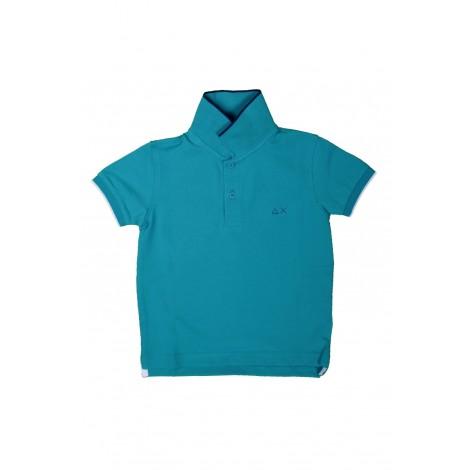 Polo Bambino Sun68 Blue