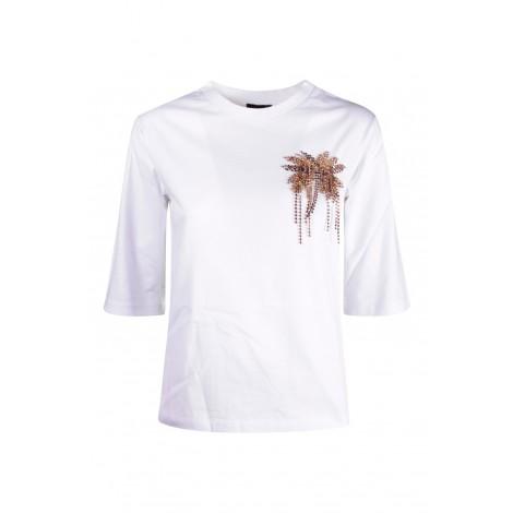 T-shirt Donna Liu Jo Bianco