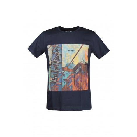 T-shirt Uomo Ko Samui Blue