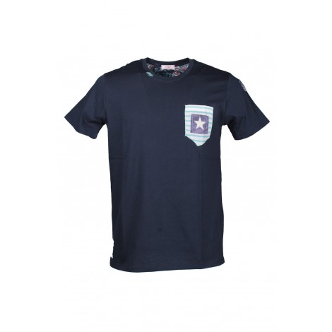 T-shirt Uomo Bob Blue