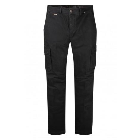 Pantaloni Uomo Aeronautica Militare Nero