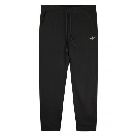 Pantaloni Felpa Uomo Aeronautica Militare Nero