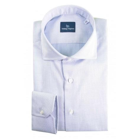 Camicia Uomo Bottega Artigiana Azzurro