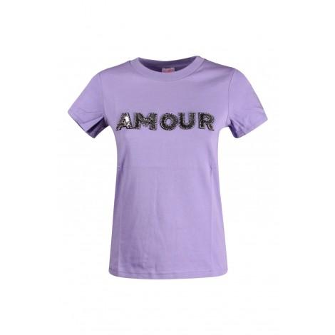 T-shirt Donna Sun 68 Viola Chiaro
