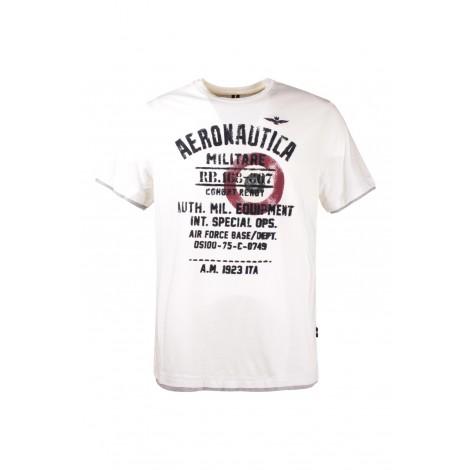 T-shirt Uomo Aeronautica Militare Bianco