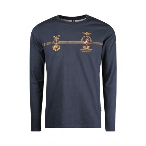 T-shirt Uomo Aeronautica Militare Blue