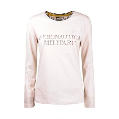 T-shirt Donna Aeronautica Militare Beige