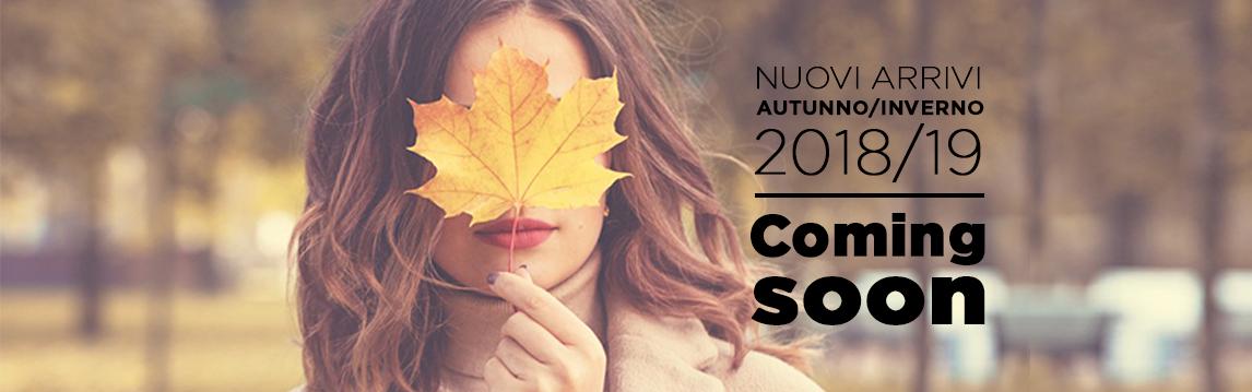 Nuovi arrivi autunno inverno 2018-19